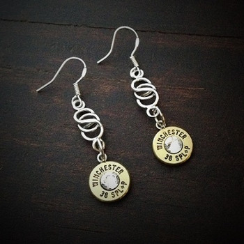 Infinity Bullet Earrings