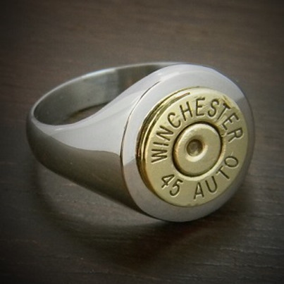 Men's Classic Bullet Ring