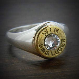 Markswoman Bullet Ring In Sterling Silver Jectz 174