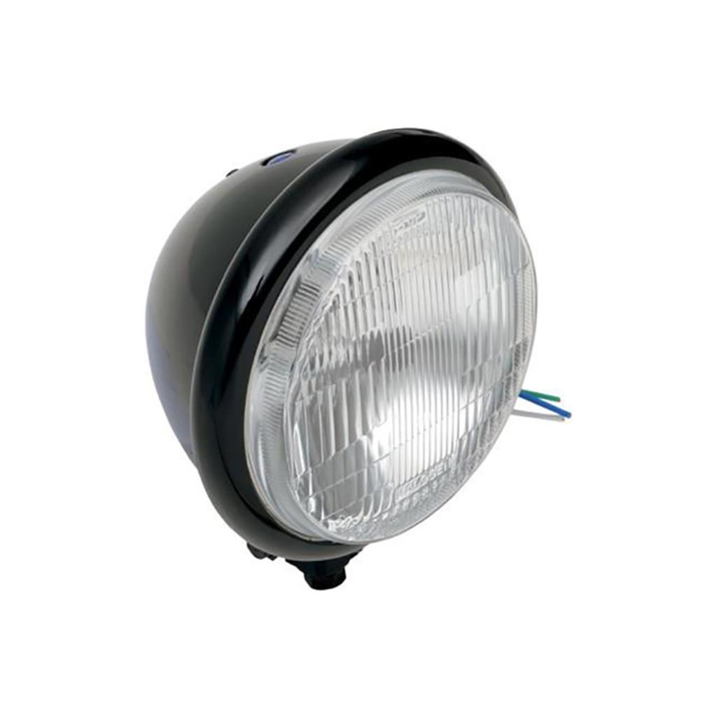 "5 3/4"" H4 Headlight - Black"