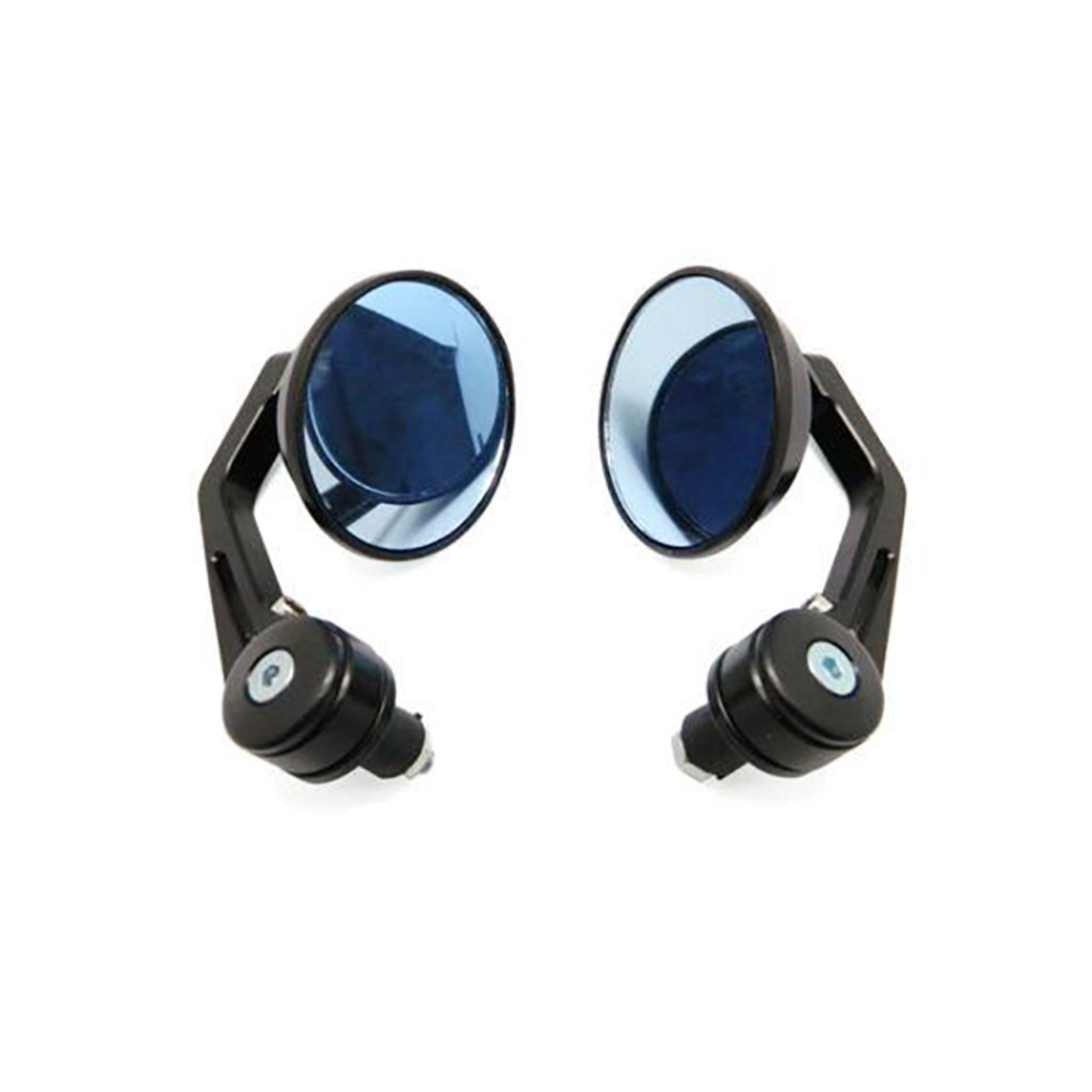 Deluxe Round Bar End Mirrors