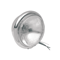 "5 3/4"" H4 Headlight - Silver"