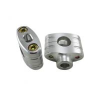 Joker Machine 7/8 Inch Handlebar Clamps - Silver