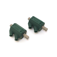 Dyna 3 Ohm Green Coils (Dual Output)