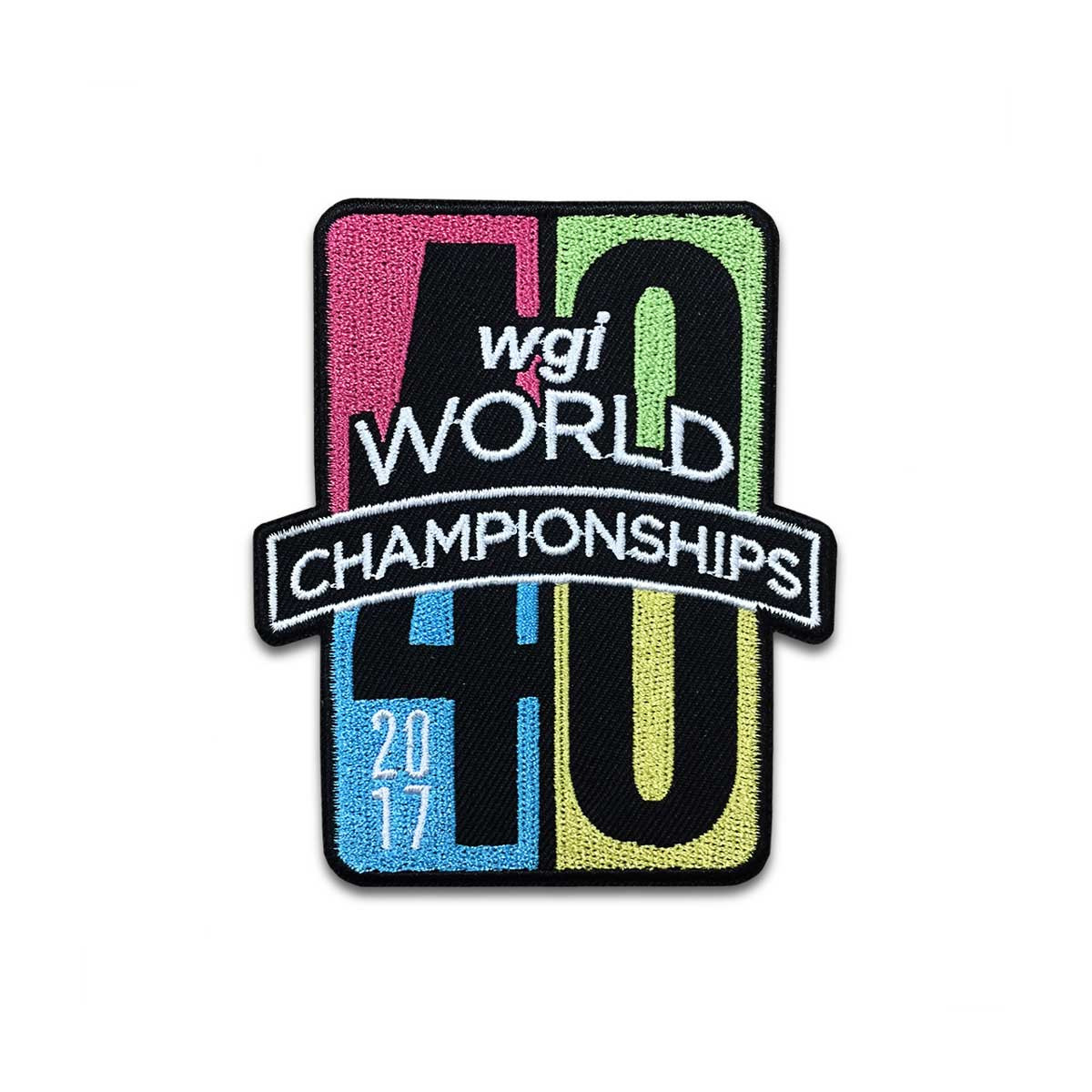 2017 WGI World Championship Patch