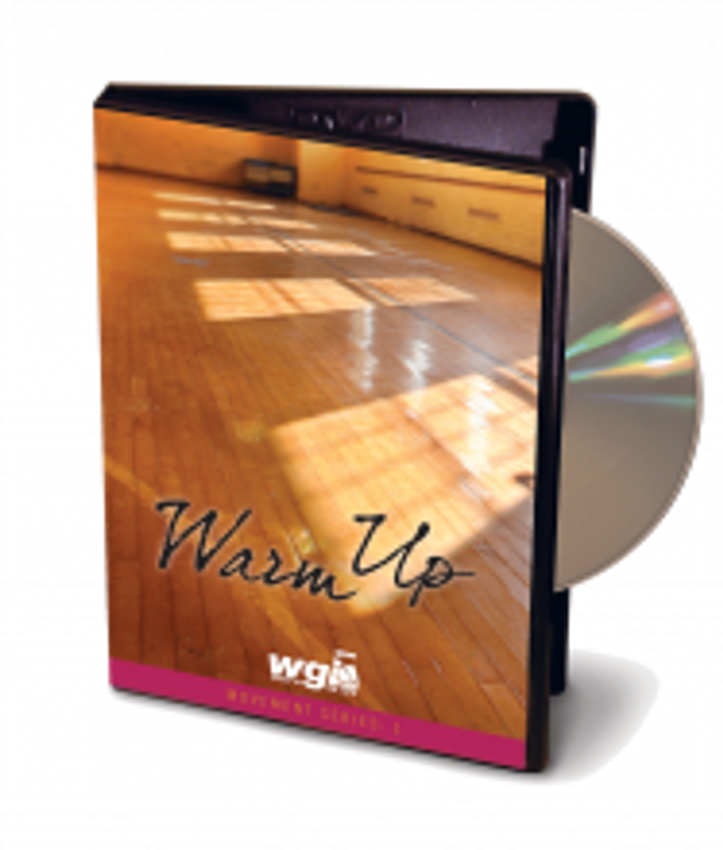WGI Movement Series: Warm Up DVD