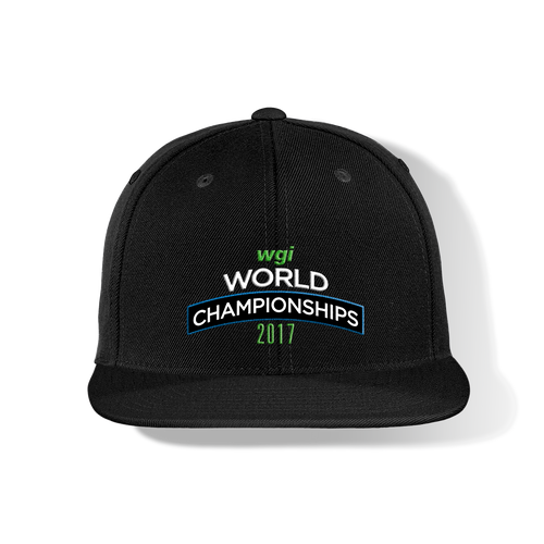 2017 WGI World Championship Flat Bill Cap