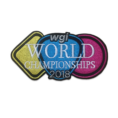 2018 WGI World Championship Event Patch