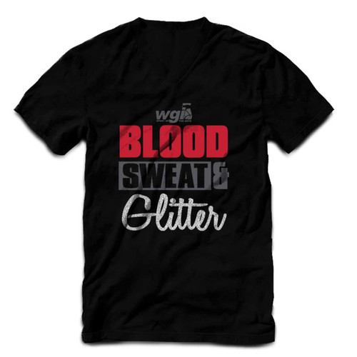 WGI Blood Sweat & Glitter V-Neck
