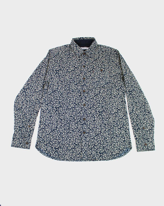 Long Sleeve Button-Up, Karakusa