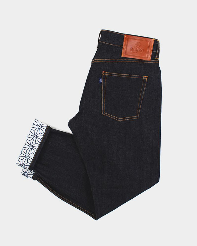 Japanese Selvedge Denim, Asanoha