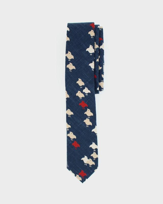 Tie, Indigo Chidori