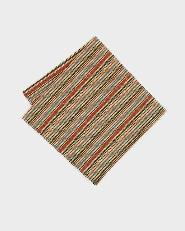 Pocket Square, Tan Woven Shima