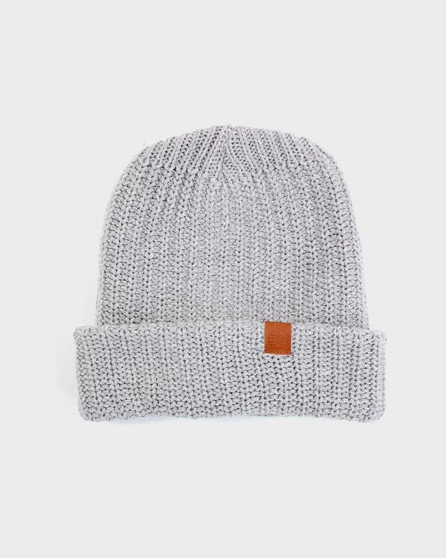 Knit Cap, Grey