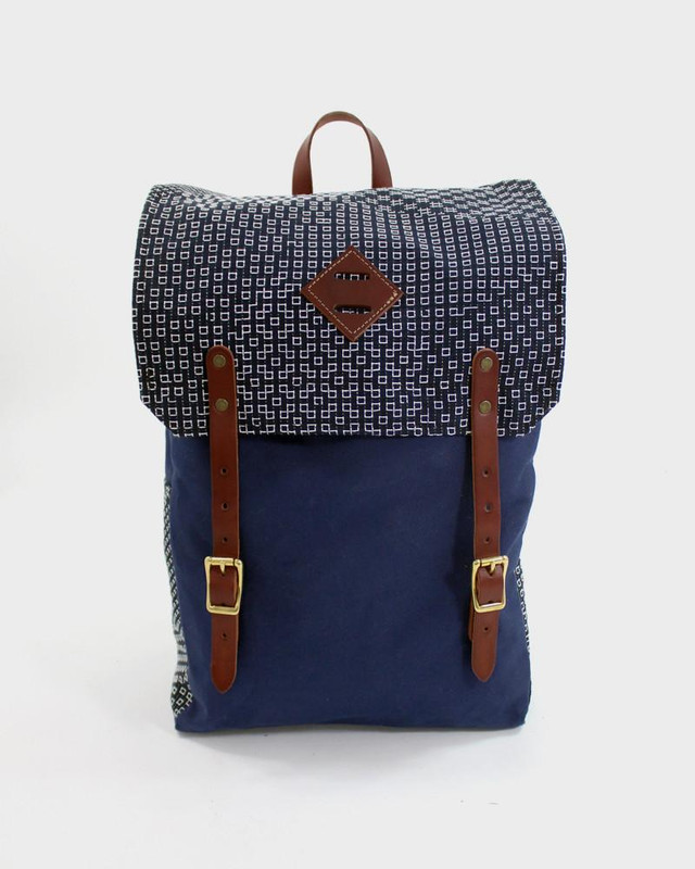 Kiriko x Red Clouds Collective, Navy Backpack