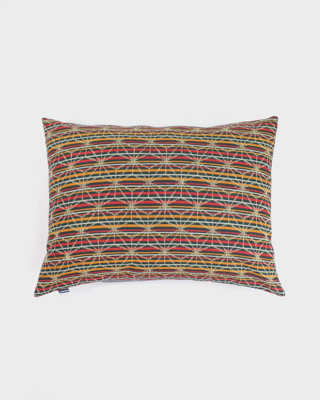 Pillow, Striped Asanoha