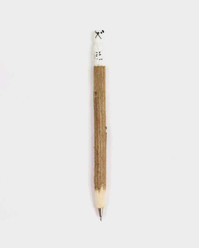 Wooden Polar Bear Pen
