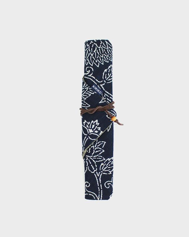Chopstick Case, Indigo Katazome