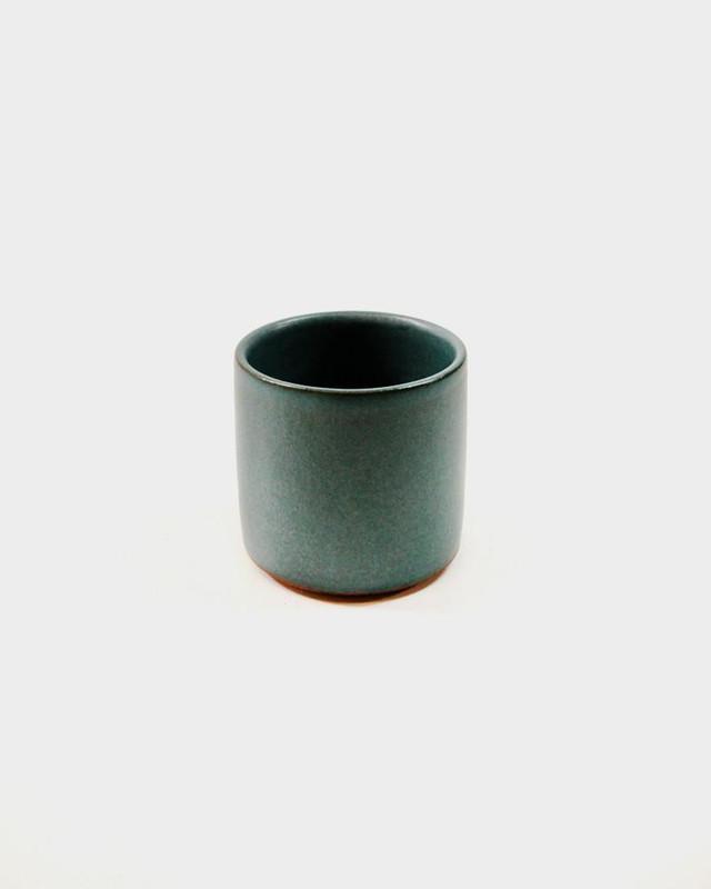 Dina Stoneware Cup, Teal