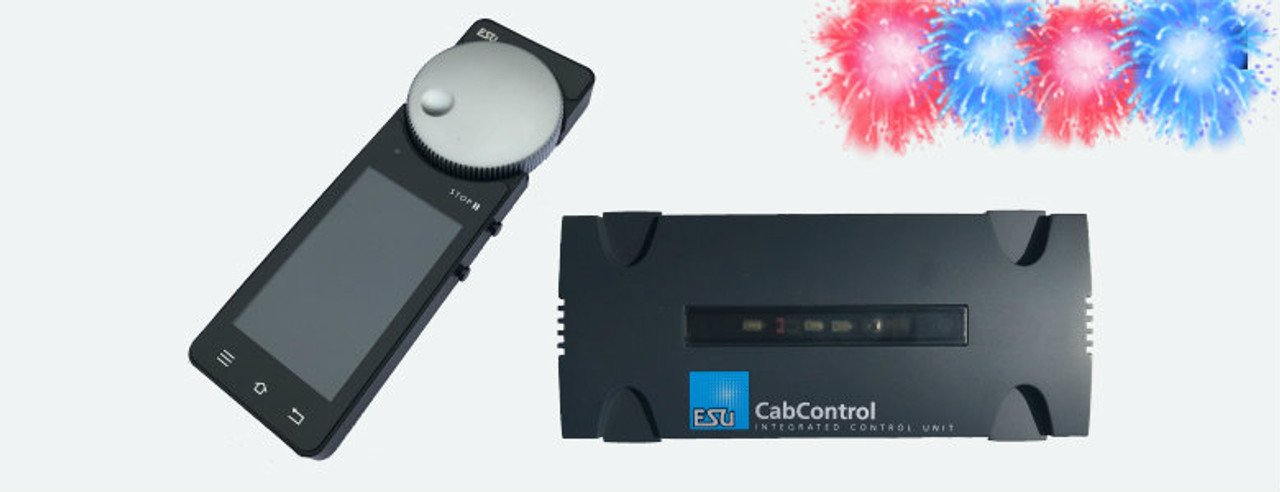 50310   ESU CabControl (IN TRANSIT from distributer to YD) DCC Wireless System (includes Wifi Mobile Control Cab)   (International  shipping is Actual cost  and invoiced separately ) Part # ESU-50310)