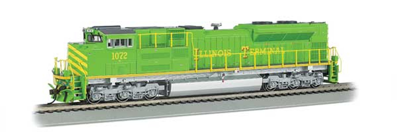 Bachmann 66006 / EMD SD70ACe - Sound & DCC working Ditch Lights-- Norfolk Southern #1072 (Illinois Terminal Heritage, green, yellow) HO Scale Part #  =     160-66006