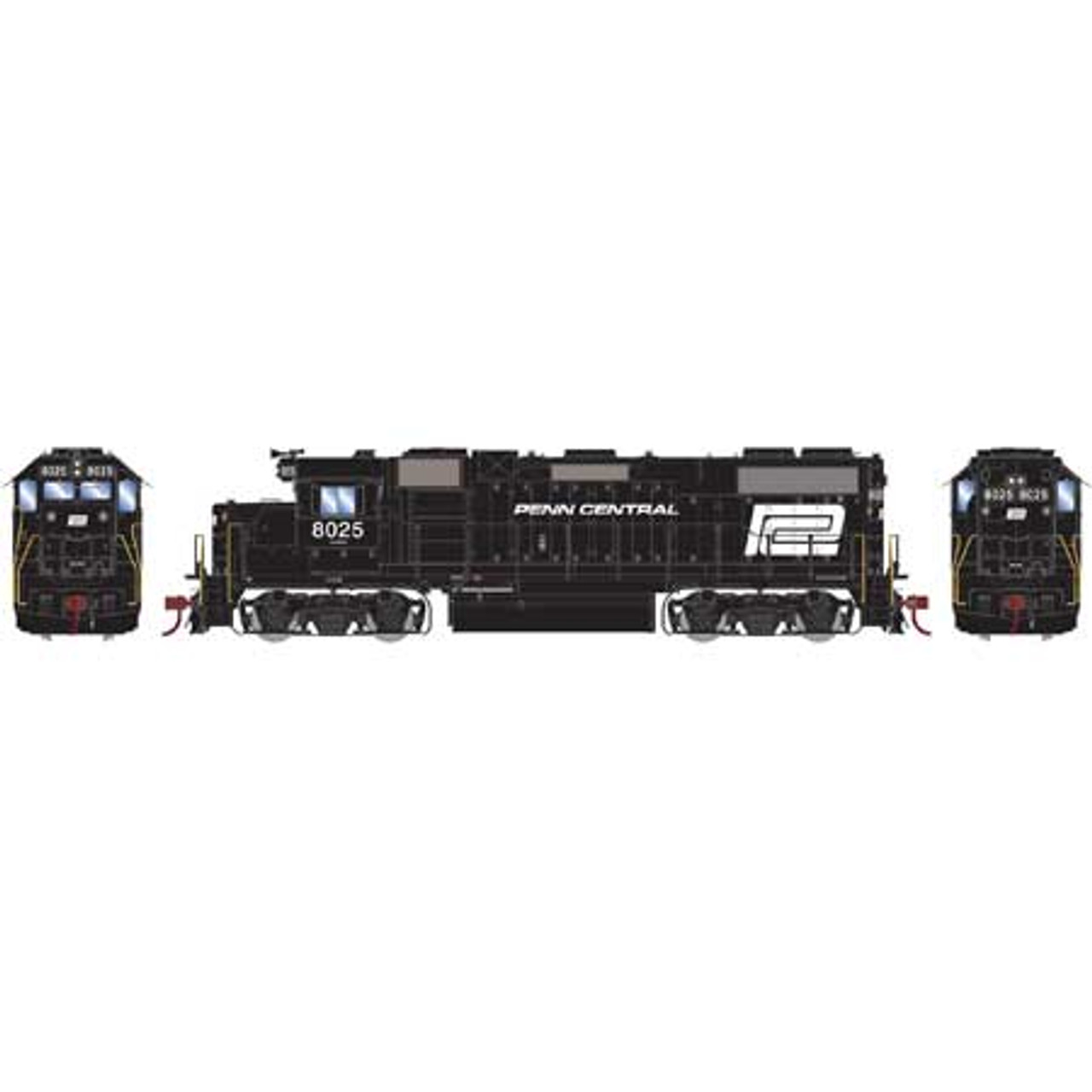 ATHG65472 GP38-2 PC Penn Central #8025 with DCC & Sound Tsunami2  (SCALE=HO)  Part #ATHG65472