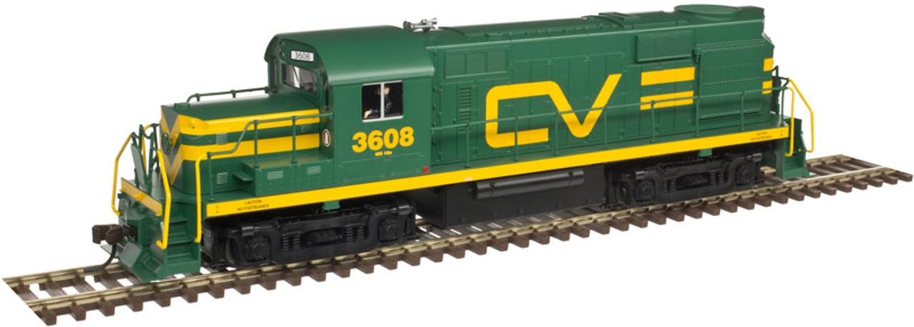 10002652 Atlas  RS-32 CV Central Vermont #3608 w/LokSound & DCC - Gold (SCALE=HO) 150-10002652