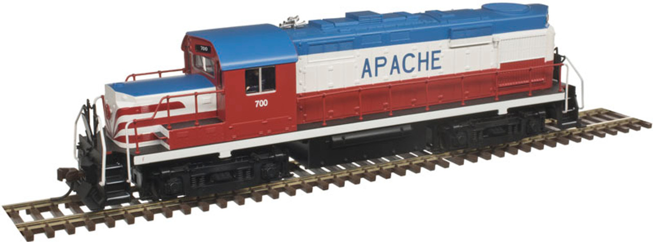 10002659 Atlas  RS-36 Apache Bicentennial #700 w/LokSound & DCC - Gold (SCALE=HO) 150-10002659