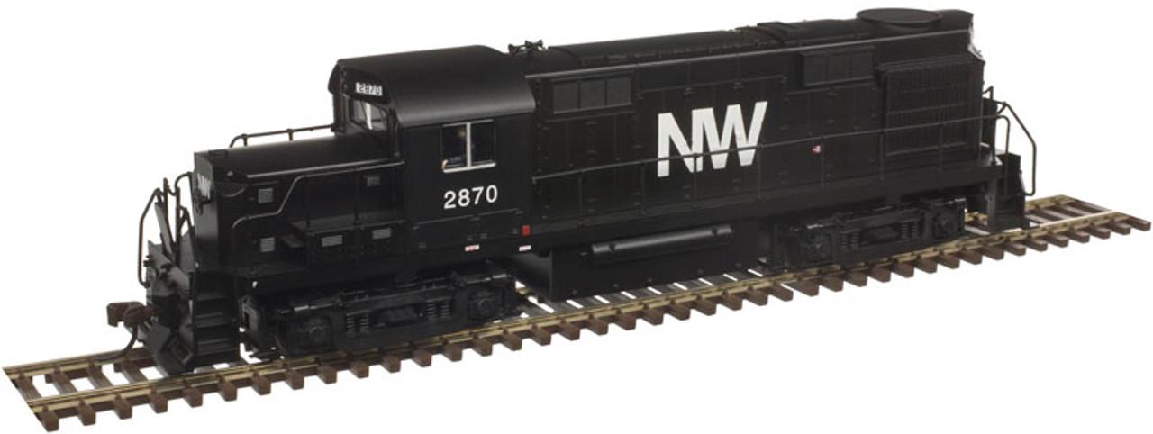 10002666 Atlas  RS-36 NW Norfolk & Western #2870 w/LokSound & DCC - Gold (SCALE=HO) 150-10002666