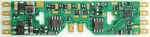 1001 TCS Train Control Systems /  A6X Decoder - Six function drop in for HO (SCALE=HO) Part # 745-1001