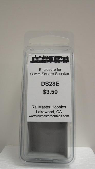 DS28E Rail Master / Speaker Enclosure For DHB28 (Scale=HO) Part # = RMT-DS28E