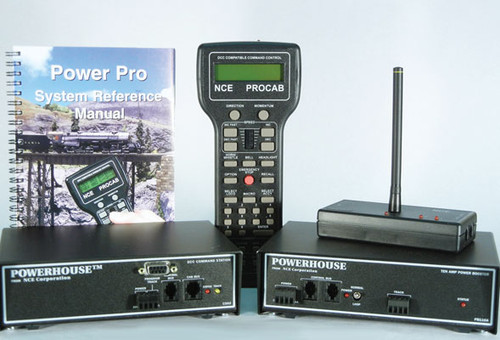 7 NCE / Powerhouse Pro with 916 MHz radio and RB01 Base Station. Requires power supply (SCALE=ALL) Part # = 524-7