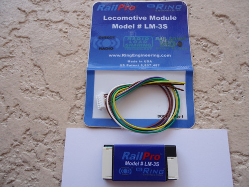 LM3-S Ring Engineering / RP Loco Module w/Sound (Scale=ALL) YANKEEDABBLER Part # = 634-LM3-S