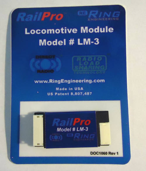 LM3 Ring Engineering / RailPro loco Mod wo/Snd (Scale=HO) YANKEEDABBLER Part # = 634-LM3