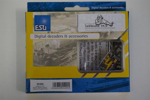 55400 ESU LokSound / V4.0 Universal sound for reprogramming Part # ESU-55400