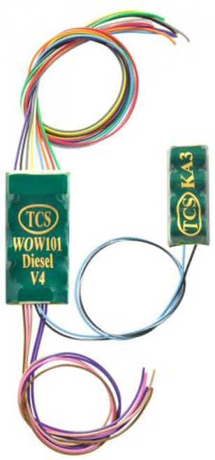 1533 TCS Train Control Systems /  WOW101-KA-Diesel (SCALE=HO) Part # 745-1533
