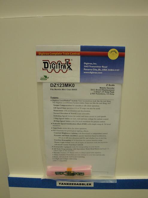 DZ123MK0 Digitrax / Repl Brd Mark Mini  (Scale = Z)  Part # 245-DZ123MK0