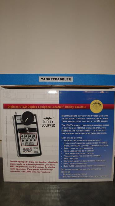 UT4D Digitrax / Throttle Use w/Dplx Radio  (Scale = ALL)  Part # 245-UT4D