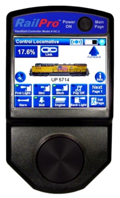 HC2-B Ring Engineering / RailPro Handheld Controlr (Scale=ALL) YANKEEDABBLER Part # = 634-HC2