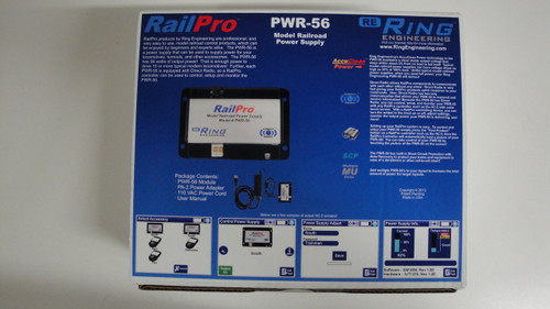 PWR56 Ring Engineering / RailPro Power Supply 56W (Scale=ALL) YANKEEDABBLER Part # = 634-PWR56