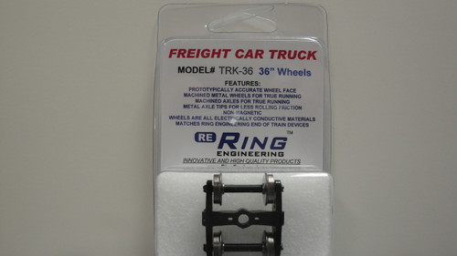 "TRK36 Ring Engineering / Truck w/36"" Wheels (Scale=HO) YANKEEDABBLER Part # = 634-TRK36"