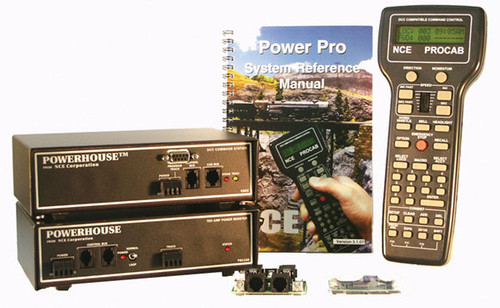 6 NCE /  Digital Command Control Starter Sets (SCALE=ALL) Part # = 524-6