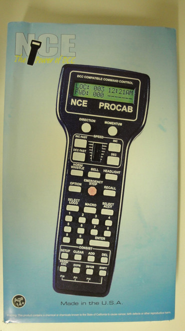 10 NCE /  Deluxe Master ProCab(TM) -- With Bac (SCALE=ALL) Part # = 524-10
