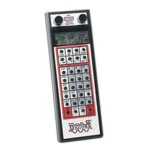 DT500D Digitrax / Duplex Super Throttle  (Scale = ALL)  Part # 245-DT500D