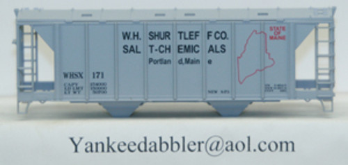 20103 (HO Scale) Yankee Dabbler-67-20103 W.H.Shurtleff Co    Salt-Chemical 70 Ton 2-Bay Cvrd Hopper 20103   171