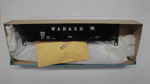 1418-1 (HO SCALE) Bev-Bel-66-1418-1 Wabash 54  PS Ribside Hopper WAB