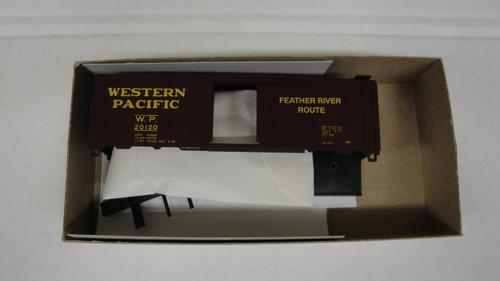 1484-1 (HO SCALE) Bev-Bel-66-1484-1 Western Pacific 40  Single Door Boxcar WP 20120