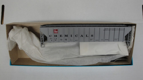1799 (HO SCALE) Bev-Bel-66-1799 FMC Corporation Chemical 54  PS Ribside Hopper PTLX 28143