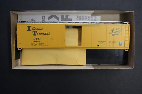 1998 (HO SCALE) Bev-Bel-66-1998 Illinois Terminal 50  Single Door Boxcar ITC 9044