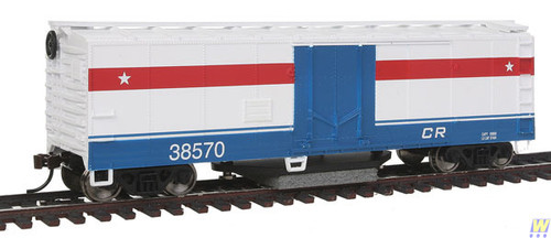 1484 (HO Scale) WAL-931-1484        Track Cleaning Car CR